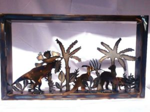 Hunting T-Rex in a metal representation of a primordial forest (1)