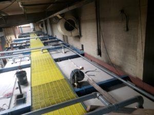 PM catwalk new roof panels