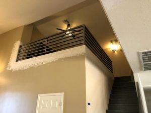 tube custom handrails